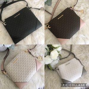 Michael Kors large Nicole crossbody bag